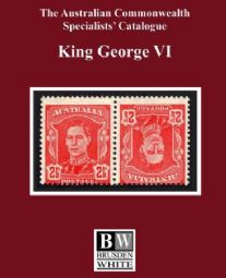 Australian Commonwealth Specialists Catalogue (Brusden White) King George VI 2015